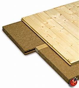 steico floor 40mm With parquet isolation acoustique
