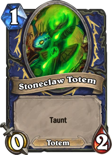 Stoneclaw Totem  Hearthstone Card