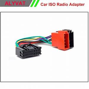 Car Iso Stereo Adapter Connector For Hyundai 2005 Onwards Kia 2005 Onwards Wiring Harness Auto