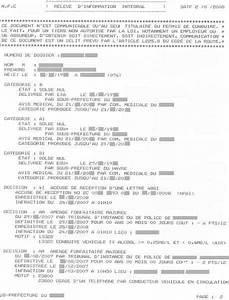 Quand Sont Retirés Les Points Du Permis : conna tre son solde de points le relev int gral d 39 information ~ Medecine-chirurgie-esthetiques.com Avis de Voitures