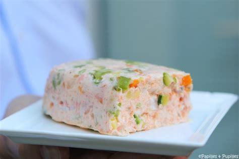 cuisine langouste terrine de saumon aux langoustine
