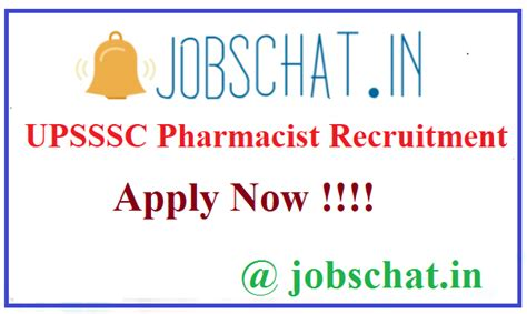 Pharmacist Vacancy by Upsssc Pharmacist Recruitment 2019 Apply For 420