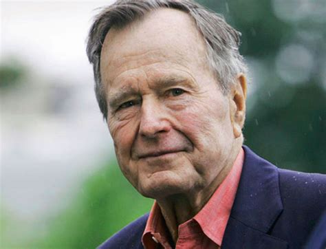 biografia di george h w bush