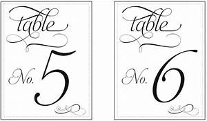 common worksheets free printable table number templates With table numbers template for weddings
