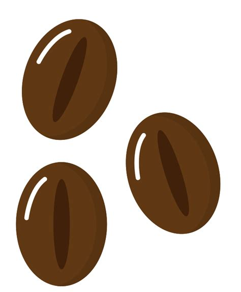 Coffee beans icon vector illustration, eps10. Free Coffee Beans PNG with Transparent Background