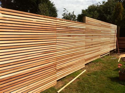 Diy Horizontal Fence Panels
