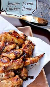Sesame Chicken Wings Recipe