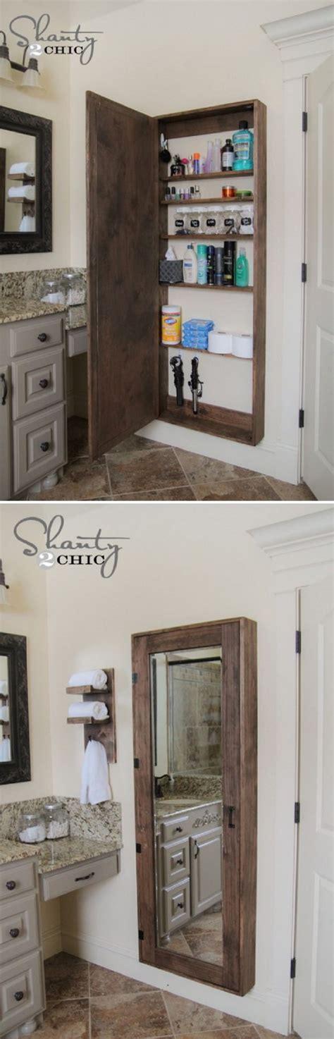 bathroom mirrors with storage ideas 20 clever storage ideas hative