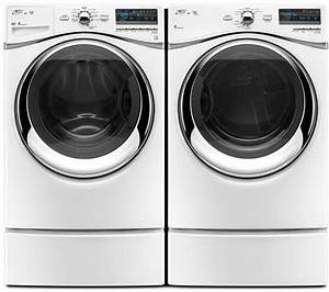 Whirlpool WFW94HEXW 27 Inch Front Load Washer With 43 Cu