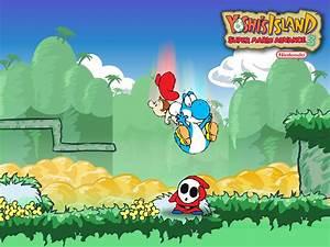 Yoshi's Island Advance - Yoshi Wallpaper (5612435) - Fanpop
