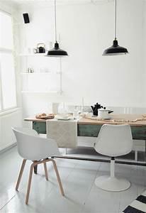Idee Deco Salle A Manger Moderne : id e d co salle manger la salle manger scandinave ~ Teatrodelosmanantiales.com Idées de Décoration