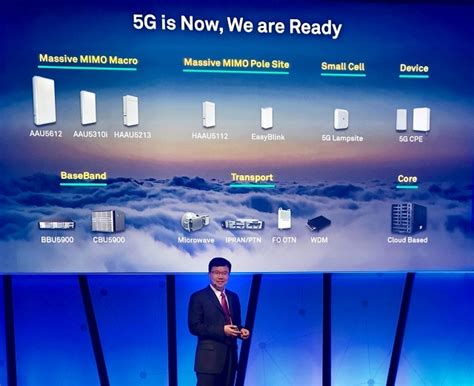 huawei launches full range      product solutions