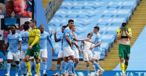 Manchester City 5-0 Norwich: Report, Ratings & Reaction as ...