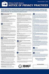privacy notice template privacy notice form privacy With notice of privacy practices template