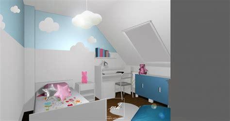 chambre bébé sous pente chambre fille sous comble cool chambre bebe sous pente
