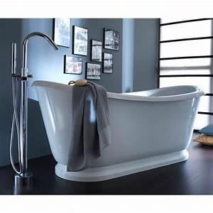 Baignoire Ilot Pas Cher : baignoire lot 174 x 80 cm sonate baignoire castorama ~ Premium-room.com Idées de Décoration