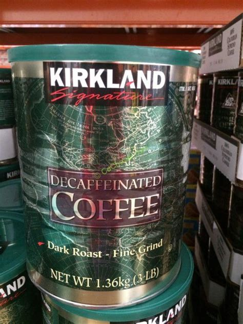 Engage with your community and support the local businesses. Kirkland Signature Decaf Arabica Coffee 3 Pound Can - CostcoChaser