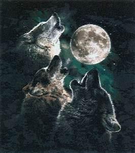 Etsy Size Chart Pdf Beautiful Cross Stitch Pattern Three Moon Wolf By