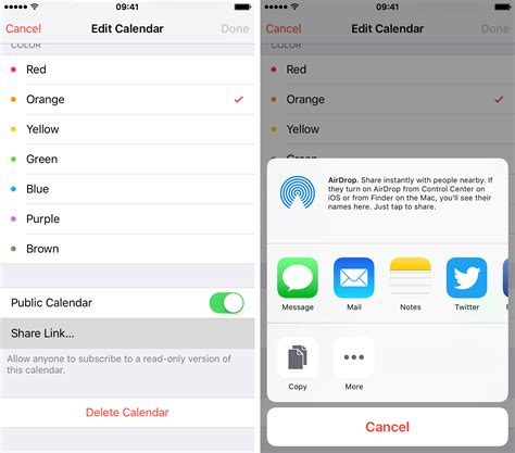 link calendar to iphone how to icloud calendars