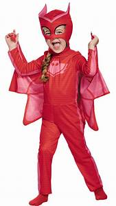 Girl's PJ Masks Owlette Costume - Kids Costumes