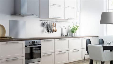 cuisine sur un pan de mur cuisine ikea contemporaine photo 2 12 installée sur un