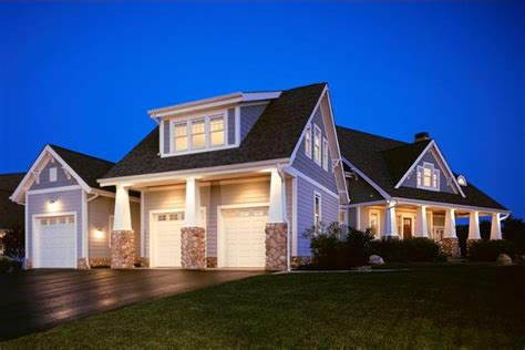traditional architecture inspired detached garages bonus rooms    house