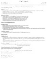 paralegal resumes that stand out resume sles