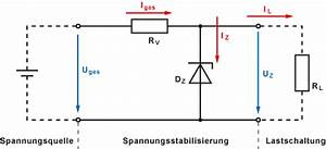 Sperrspannung Diode Berechnen : spannungsstabilisierung mit z diode ~ Themetempest.com Abrechnung