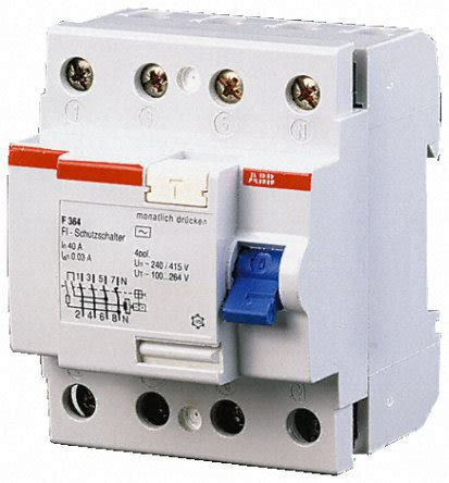 abb rccb wiring diagram abb earth leakage circuit breaker at rs 2000 unit ram nagar coimbatore id 2282108562