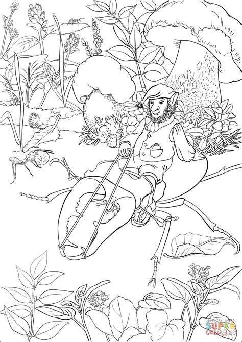 leprechaun coloring pages leprechaun is a beetle coloring page free