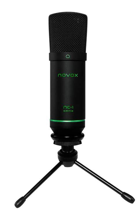 mikrofon pojemnosciowy novox nc  game usb pop filtr ps