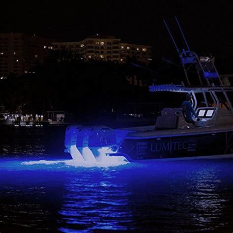 Surface Mount Underwater Boat Lights by Lumitec Seablazex 101141 Led Underwater Boat Light