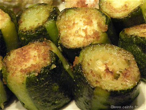 cuisiner courgettes poele bûches de courgettes poêlées recette light les légumes