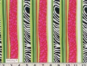 Hot PINK, LIME Green, and Black and White ZEBRA Stripes ...