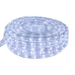 shop cascadia lighting cool white led rope light actual 15 feet at lowes com