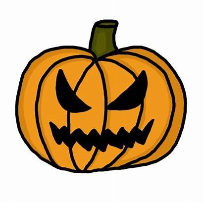 Scary Pumpkin Clipart Clip Halloween Spooky Cliparts