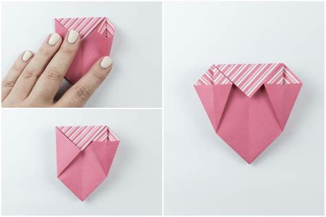Origami Open Box With Flaps Tutorial