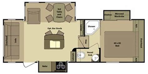 open range roamer rv floor plans 2011 open range rv roamer fifth wheel series m 280rls