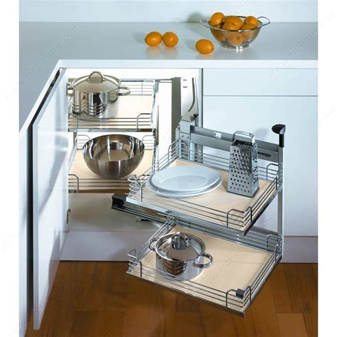 Kitchen Cupboard Corner Storage by Magic Corner Ii Set For A Minimum Opening Of 444 Mm 17 1
