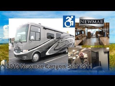 newmar canyon star  accessibility coach canyon recreational vehicles stars