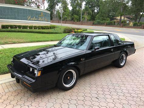 buick grand national  original miles sold