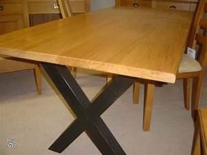 Pied De Table Bois : table pied croisillon maison et jouets 35 magasin de ~ Melissatoandfro.com Idées de Décoration