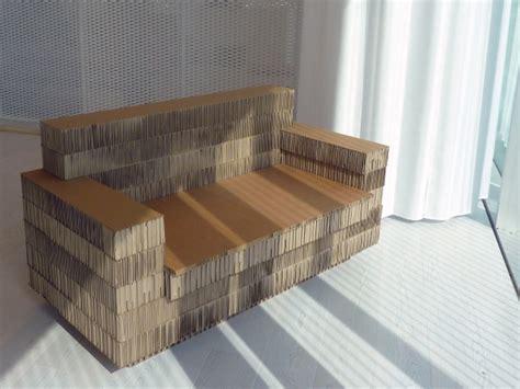 recycling moebel aadesign stellt design moebel aus pappe