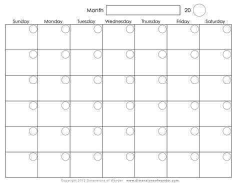 Monthly Calendar Free Free Printable 2016