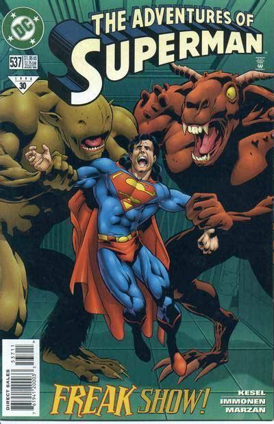 adventures  superman  freak show issue