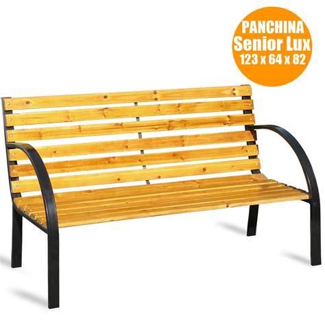 Panchina Legno by Legno Per Panchine Esterne