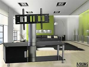 Tv Möbel Drehbar : berling tv m bel mit halterung drehbar schwarzglas wb402 bb tv m bel car gmbh ~ Orissabook.com Haus und Dekorationen