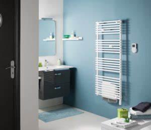 quelle couleur de seches serviettes choisir pour votre With porte d entrée pvc avec chauffage de salle de bain à fixation murale