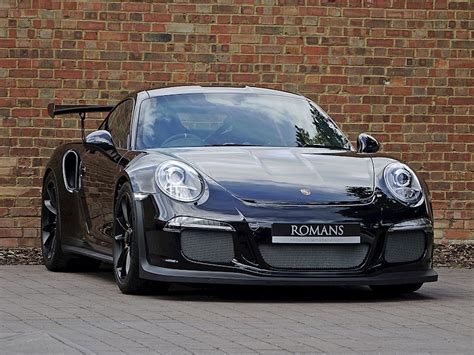 Black Gt3 Rs by 2015 Used Porsche 911 991 Gt3 Rs Black