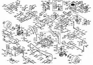 Dixon Ztr 4515k  1998  Parts Diagram For Chassis